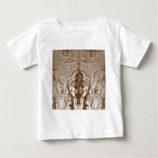 Cave Style VINTAGE Gold Pattern Baby T-Shirt
