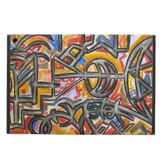 Cave Symbols - Abstract Art Geometric iPad Air Case