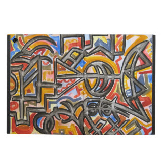 Cave Symbols - Abstract Art Handpainted Case For iPad Air