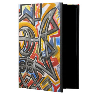 Cave Symbols - Abstract Art Handpainted iPad Air Cover