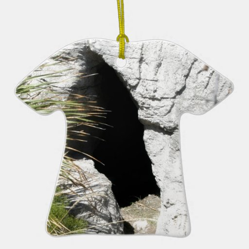 Cave To know where Double-Sided T-Shirt Ceramic Christmas Ornament