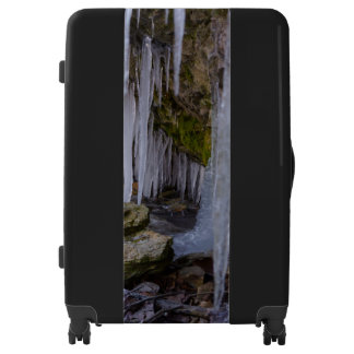 Cave Tunnel Of Ice Luggage