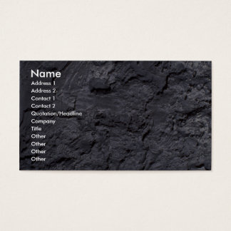 Cave wall business card