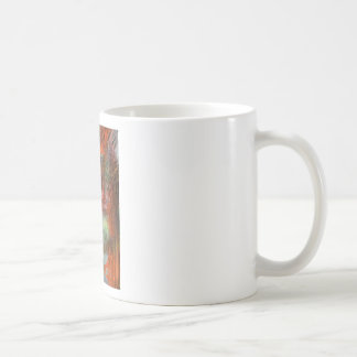 Cave wall with leaching minerals coffee mug