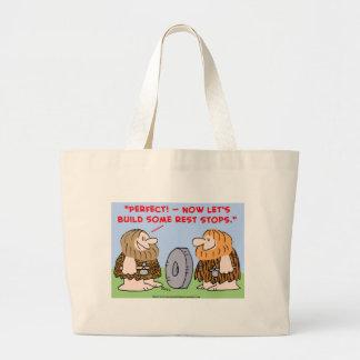 cave wheel rest stops bag