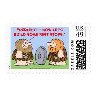 cave wheel rest stops postage