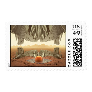 Cave With A View Postage Stamps