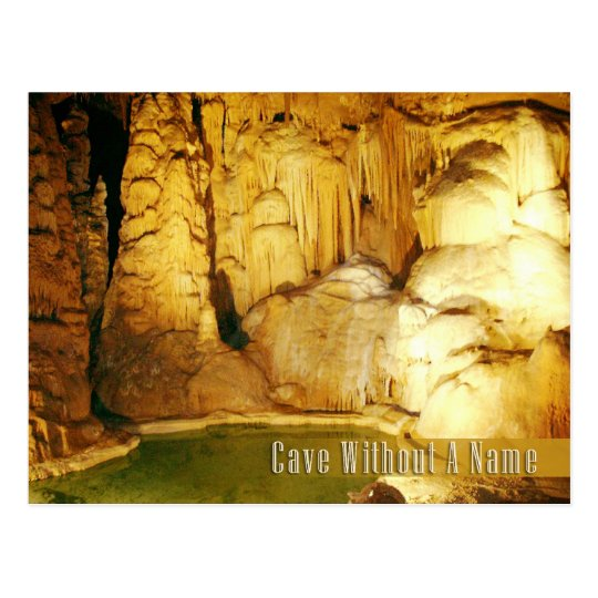 Cave Without a Name, Boerne, Texas Postcard