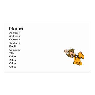 Caveboy & Pet Dragon Business Card