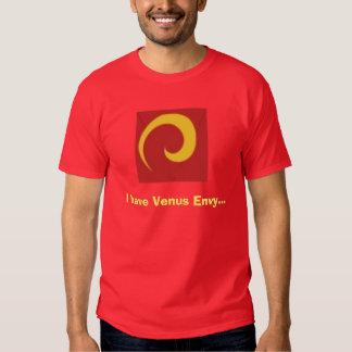 Cavegirls - camiseta para hombre de la envidia de poleras