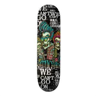 Caveira Elvis Skateboard