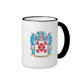 Cavell Coat of Arms - Family Crest Coffee Mugs