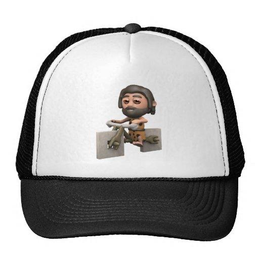 caveman-bikesq trucker hat