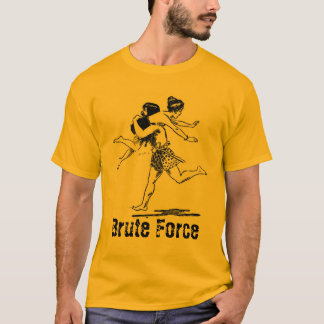 caveman, Brute Force T-Shirt