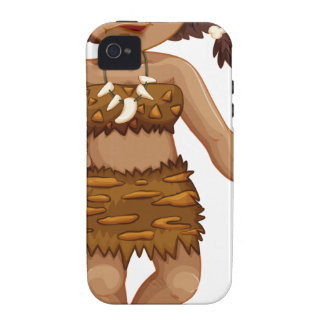 Caveman Vibe iPhone 4 Case