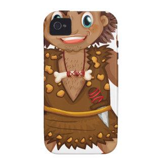 Caveman Case-Mate iPhone 4 Cover