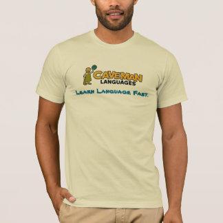 caveman-color, Learn Language Fast. T-Shirt