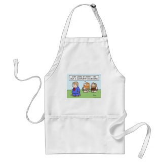 caveman complete makeover adult apron