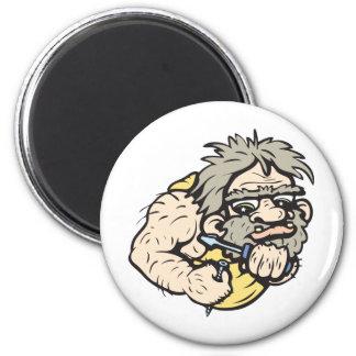 Caveman!  Customizable! Magnet
