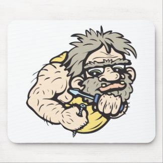 Caveman!  Customizable! Mouse Pad