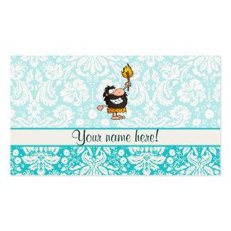 Caveman; Cute Business Card