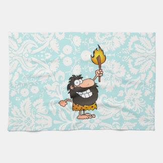 Caveman Cute Towel