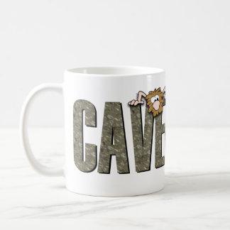 Caveman Diet Classic White Coffee Mug