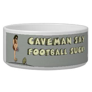 CAVEMAN FOOTBALL BOWL