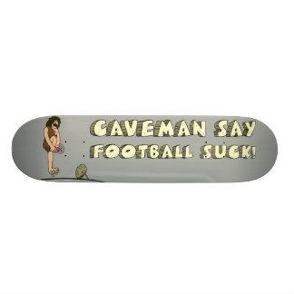 CAVEMAN FOOTBALL SKATEBOARD DECK