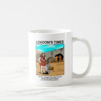 Caveman Got The Club... Funny Gifts & Tees Coffee Mug