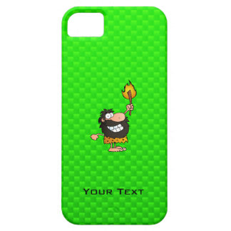 Caveman; Green iPhone 5 Case