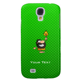 Caveman; Green Galaxy S4 Covers