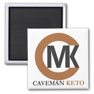 Caveman Keto Square Magnet