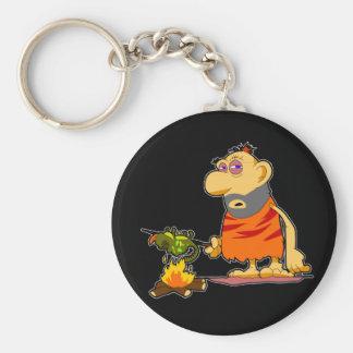 Caveman Keychain