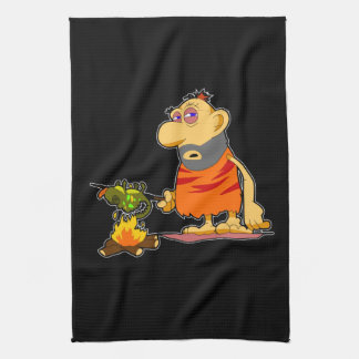 Caveman Kitchen Towel