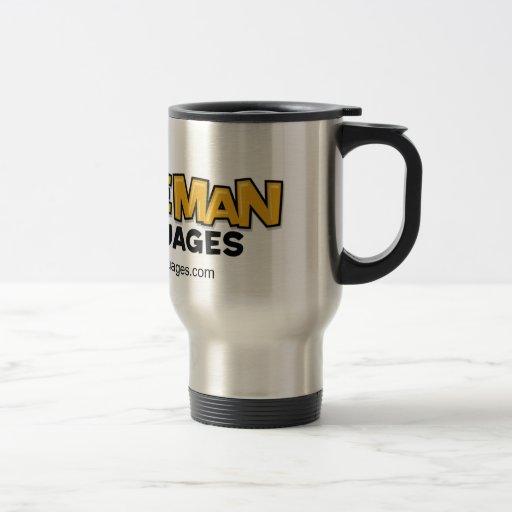 Caveman Languages Travel Mug