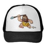 caveman mesh hat
