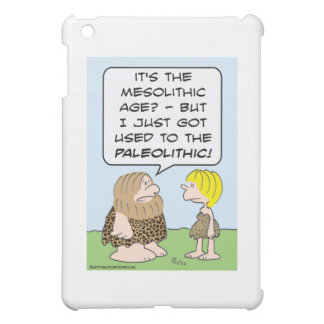 caveman mesolithic paleolithic case for the iPad mini