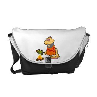Caveman Messenger Bag