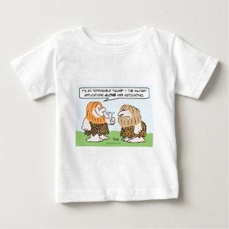 caveman opposable thumb military applications tee shirt