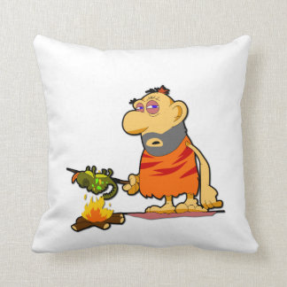 Caveman Pillow