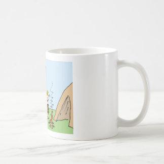caveman realty fire included coffee mug