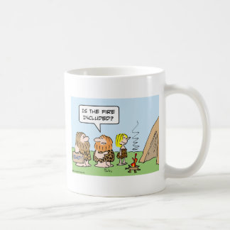 caveman realty fire included coffee mug