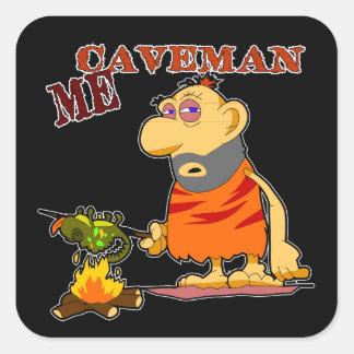 Caveman Sticker
