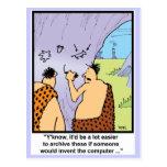 Caveman Style Postcards