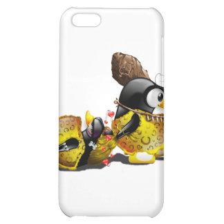 Caveman Tux in Love iPhone 5C Cover
