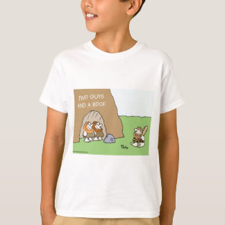caveman two guys and a rock T-Shirt