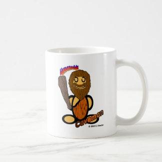 Caveman (with logos) coffee mugs