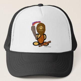 Caveman (with logos) trucker hat