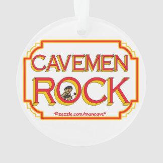 Cavemen Rock BR Ornament